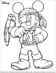 Unusual 8 5 X 11 Halloween Coloring Pages For Disney Color Az