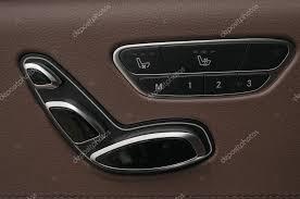 reglage siege auto boutons de réglage de position du siège auto photographie