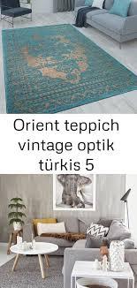 orient teppich vintage optik türkis 5 decor contemporary