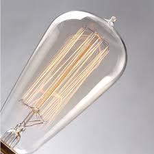 st58 e27 40w filament light bulb vintage retro edison l 110v