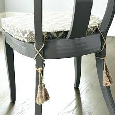 Dining Chair Cushions With Ties French Country Pads Tie On