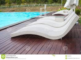 Simple Loungers Poolside With Pool Side O