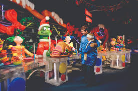 The Grinch Christmas Tree Scene by Gaylord National U0027s Smash Hit Holiday Attraction Ice Brings The