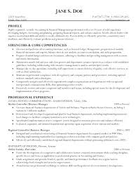 College Business Resume Examples With Good Resumes To Produce Inspiring Student