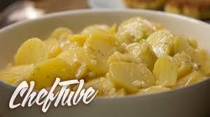 comment cuisiner des pommes de terre comment faire une salade de pommes de terre allemande recette