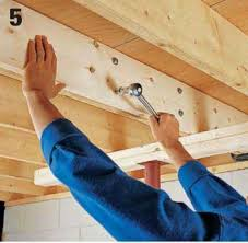 Sistering Floor Joists To Increase Span by How To Repair A Cracked Or Sagging Joist 5 Diy Home Pinterest