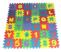 Kids Play Mats Eva Foam Floor Alphabet Childrens Puzzle Mat