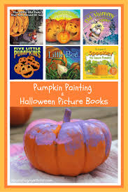 Spookley The Square Pumpkin Book Amazon by Pumpkin Painting U0026 Halloween Picture Books Nourishing My Scholar