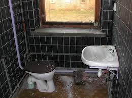 schwarz lila bad foto bild die toilette motive bilder