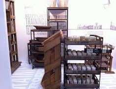 Industrial Rustic Display Table For Merchandise