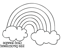 Rainbow Coloring Pages Kids Free Colouring Pictures Of Rainbows Dash Color