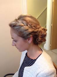 Bridal Hairstyles With Plaits Cute Updo Wedding Hair Vintage