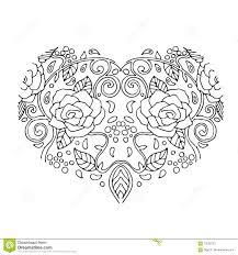 Coeur D Amour Dessin Imprimable Coloriages Dessin