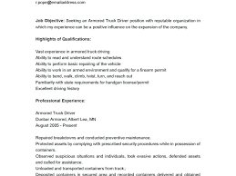 100 Truck Driver Description Job Resume Free Professional Resume