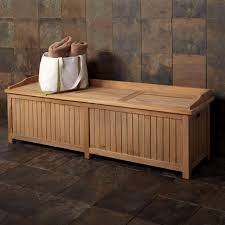 Build Outdoor Storage Bench by Outdoor Storage Bench Waterproof Treenovation