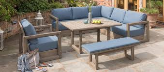 Patio Corner Casual Tables Furniture Sets Round Outside ...