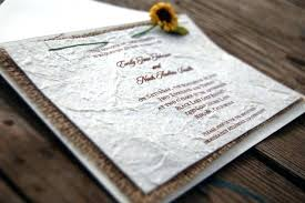 D I Y Rustic Burlap Sunflower Wedding Invitation And Lace Invitations Etsy
