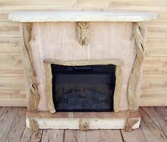 Unique Fireplace Mantels At Home In Fine Wooden Materials Electric Mantel Tv Stand Driftwood Rustic For