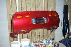 garage using corvette rear bumper corvetteforum