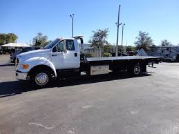 2013 Used Ford F650 21RRSB..21FT X 96 WIDE JERRDAN ROLLBACK TOW ...