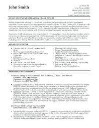 Press Operator Job Printing Resume Sample Machine