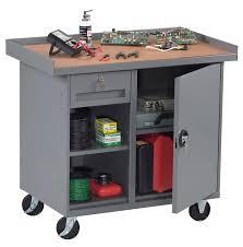 Tennsco Steel Storage Cabinets by Tennsco Tennsco Mobile Workbench