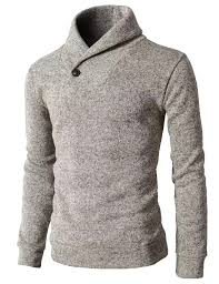 34 H2H Mens One Button Point Shawl Collar Knited Slim Fit Pullover Sweater At Amazon MenaEURTMs Clothing Store Turtleneck