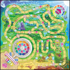 Candyland Game Board Life Template