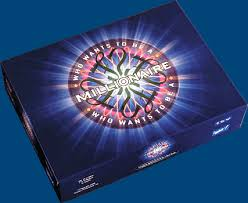 THE WHO WANTS TO BE A MILLIONAIRE FIRST EDITION BOARD GAME