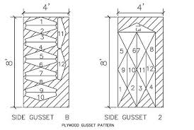 12x16 Gambrel Shed Kits by Gambrel Roof Gussets U0026 12x16 Gambrel Shed Plans 09 Rafter View Sc