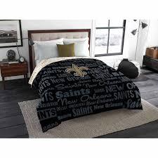 NFL New Orleans Saints Twin Full Bedding forter Walmart
