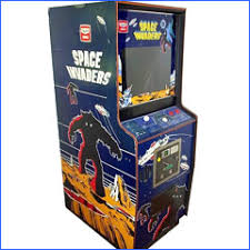 Retro Space Invaders Upright Arcade Machine For Hire
