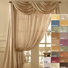 Searsca Sheer Curtains by 7 Best Curtains Images On Pinterest Scarf Valance Bay Window