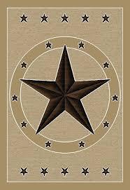 Texas Lone Star Rug Southwestern Rustic Western Rugs