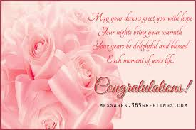 Wedding Wishes And Messages 365greetings Congratulations Sayings For Weddings