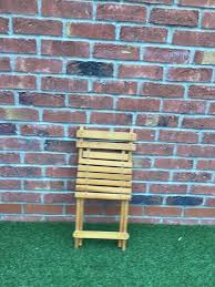 Retro Wooden Folding Chair | In Kingswood, East Yorkshire | Gumtree