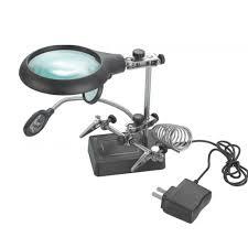 Magnifier Lamp 10x Magnification by 27 Original Magnifying Desk Lamps Yvotube Com