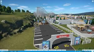 Roman Theme Park Under Construction