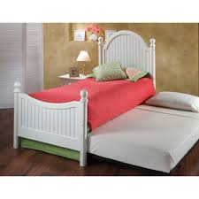 Westfield Wood Trundle Bed in f White