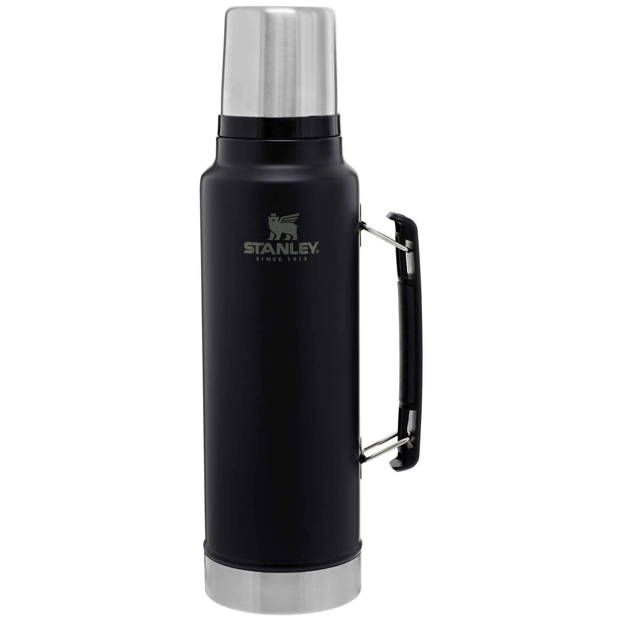 Stanley Legendary Classic Insulated Vacuum Bottle 1.5 Qt., Black