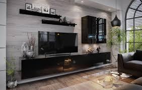 wohnwand bono wohnzimmer schrankwand tv schrank anbauwand hochglanz tv möbel set