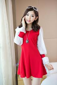 Girls Clothing Wholesale New Designe 2014 Dress E8239 Red