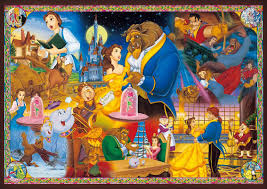 Disney Jigsaw Puzzle 1000 pieces Beauty and the Beast DW 1000 479