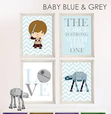 Baby Boy Star Wars Nursery Art Room Decor
