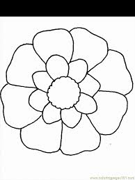 Flower Coloring Pages 2 Page