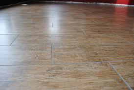 brilliant porcelain tile that looks like a wood floor surface with