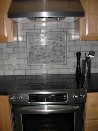kitchen backsplash white subway tile accent marble popular top