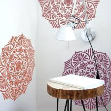 Wall Stencils For Painting Mandala Stencil Furniture