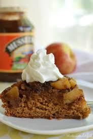 Upside Down Apple Cake WonkyWonderful