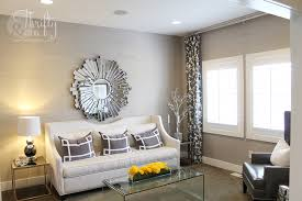 Grey And White Living Room Ideas Via Thriftyandchic